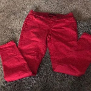 Women's No Boundaries red skinny jeans size 7-9